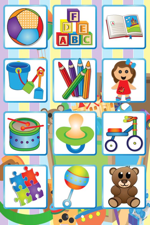 儿童识物图片